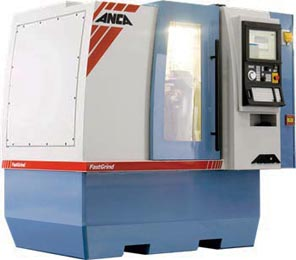 Custom CNC Endmill Sharpening and Manufacturing Machine